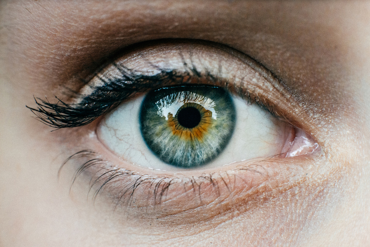The eyeball keeps it shape because of the liquid inside it. What's the deal?